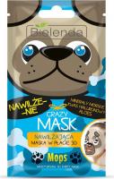 Bielenda - Crazy Mask - Moisturising 3D Sheet Mask - Moisturizing 3D mask - Pug