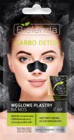 Bielenda - Carbo Detox - Cleansing Carbon Nose Pore Strips - 2 pieces