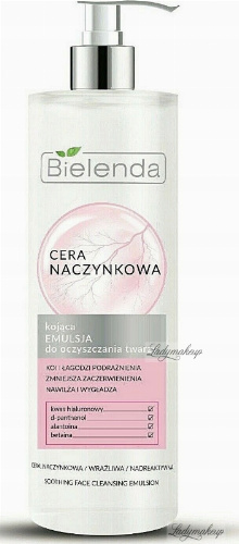 Bielenda - Couperose Skin - Soothing Face Cleansing Emulsion - Vascular Skin - 190 ml
