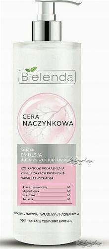 Bielenda - Couperose Skin - Soothing Face Cleansing Emulsion - Vascular Skin - 190 ml