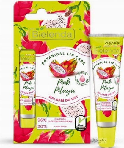 Bielenda - Botanical Lip Care - Pink Pataya - Lip Balm - 10 g