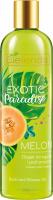Bielelda - Exotic Paradise - Bath and Shower Oil - Melon - Olejek do kąpieli i pod prysznic z sokiem z melona - 400 ml