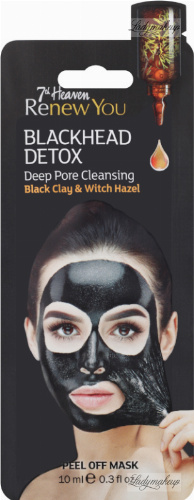 7th Heaven (Montagne Jeunesse) - Renew You - Blackhead Detox - Deep Pore Cleasing - Peel Off Mask - Peel Off