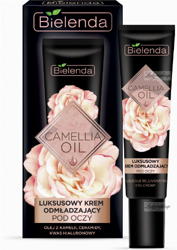 Bielenda - CAMELLIA OIL - Luxurious rejuvenating eye cream - 15 ml