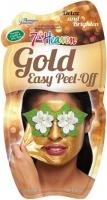 7th Heaven (Montagne Jeunesse) - Gold - Easy Peel Off - Złota maseczka do twarzy - Peel Off