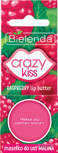 Bielenda - Crazy Kiss - Raspberry Lip Butter - Raspberry Lip Butter - 10 g