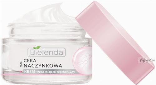 Bielenda - Couperose Skin - Strengthening and Regenerating Cream - Capillaries - Strengthening and regenerating night cream - 50 ml