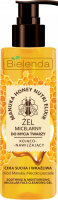 Bielenda - Manuka Honey Nurtri Elixir - Soothing & Moisturising Micellar Face Cleansing Gel - Kojaco-nawilżający żel micelarny do mycia twarzy - 200 g