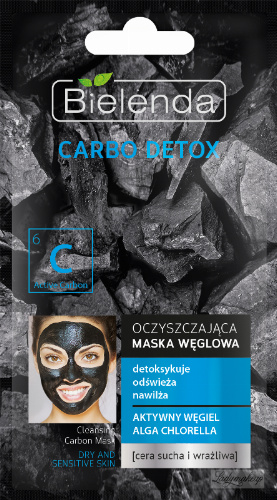 Bielenda - Carbo Detox - Cleansing Carbon Mask