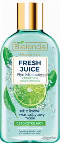 Bielenda - Fresh Juice - Detoxifying Micellar Liquid with Bioactive Citrus Water - Detoxifying micellar fluid with bioactive citrus water - 100 ml