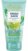 Bielenda - Fresh Juice - Detoxifying Coarse-grained Face Peeling - Detoksykujący peeling gruboziarnisty do twarzy z bioaktywną wodą cytrusową - 150 g