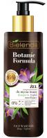 Bielenda - Botanic Formula - Face Wash Gel - Hemp + Saffron - Żel do mycia twarzy - Konopie + Szafran - 200 ml