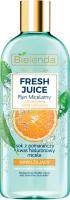 Bielenda - Fresh Juice - Moisturizing Micellar Liquid with Bioactive Citrus Water - Nawilżający płyn micelarny z bioaktywną wodą cytrusową - 500 ml