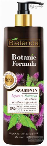Bielenda - Botanic Formula - Shampoo Burdock + Nettle - Shampoo for oily hair - Burdock + Nettle