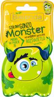 Bielenda - Monster - Maska w płacie 3D - Szalony Gonzo – Rozświetla