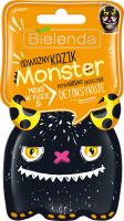Bielenda - Monster - Maska w płacie 3D - Odważny Kazik – Detoksykuje