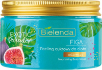 Bielenda - Exotic Paradise -Nourishing Body Scrub - Nourishing body sugar scrub - Fig