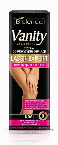 Bielenda - Vanity Professional - Laser Expert - Precise Hair Removal Package - Legs - Zestaw do precyzyjnej depilacji nóg