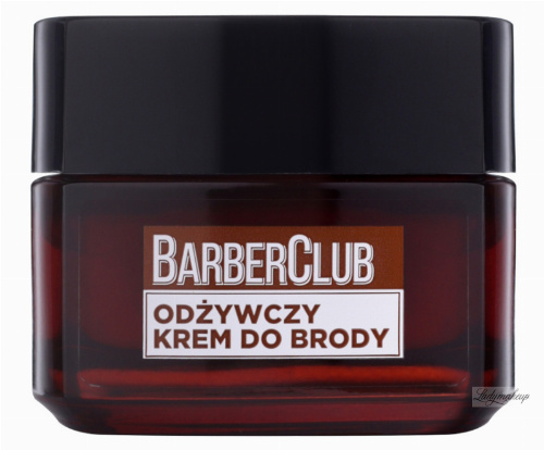 L'Oréal - MEN EXPERT - BARBER CLUB CREAM - Odżywczy krem do brody - 50 ml