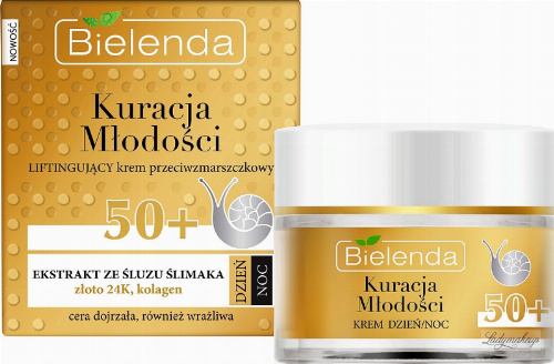 Bielenda - Youth Treatment - Lifting anti-wrinkle cream - 50+ Day / Night - 50 ml