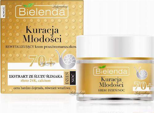 Bielenda - Youth Treatment - Revitalizing anti-wrinkle cream - 70+ Day / Night - 50 ml