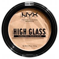 NYX Professional Makeup - HIGH GLASS - Finishing Powder - Puder do wykończenia makijażu