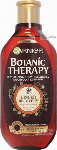 GARNIER - BOTANIC THERAPY - REVITALIZING SHAMPOO - Rewitalizujący szampon do włosów cienkich i zmęczonych - Korzeń imbiru i miód - 400 ml
