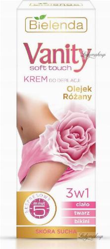 Bielenda - Vanity Soft Touch - Hair Removal Cream - Rose Oil - Krem do depilacji - Olejek różany 100 ml