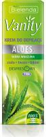 Bielenda - Vanity - Hair Removal Cream - Aloe - Krem do depilacji ciała, twarzy i bikini - Aloes - 100 ml