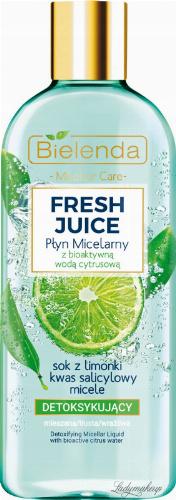 Bielenda - Fresh Juice - Detoxifing Micellar Liquid with Bioactive Citrus Water - Detoxifying micellar fluid with bioactive citrus water - 500 ml