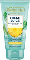 Bielenda - Fresh Juice - Brightening Enzymatic Face Peeling - Rozświetlający peeling enzymatyczny do twarzy z bioaktywną wodą cytrusową - 150 g