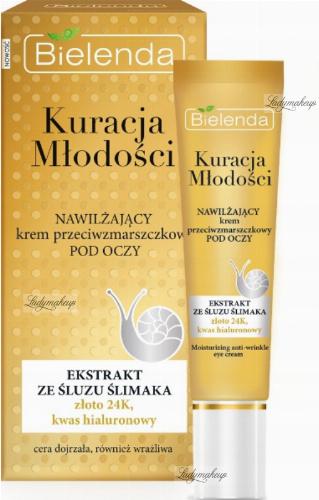 Bielenda - Youth Treatment - Moisturizing anti-wrinkle eye cream - 15ml