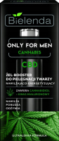 Bielenda - Only for Man - Cannabis - CBD - Moisturising and Energising - Facial Care Gel-Booster - Nawilżająco-energetyzujący żel-booster do pielęgnacji twarzy - 30 ml