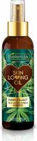 Bielenda - Skin Loving Oil - Moisturizing Body Oil with Hemp - Moisturizing Body Oil - Hemp - 150 ml