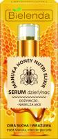 Bielenda - Manuka Honey Nutri Elixir - Nourishing & Moisturising Serum - Day/Night - Odżywczo-nawilżające serum - Dzień/Noc - 30 g