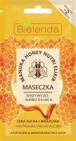 Bielenda - Manuka Honey Nutri Elixir - Nourishing & Moisturising Face Mask - Odżywczo-nawilżająca maseczka - 8 g