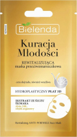 Bielenda - Youth Treatment - Revitalizing anti-wrinkle mask in a hydroplastic 3D panel