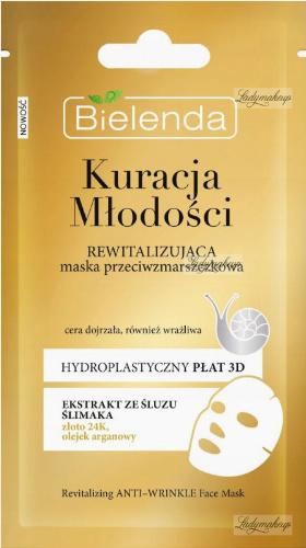 Bielenda - Youth Treatment - Revitalizing anti-wrinkle mask in a hydroplastic 3D panel