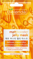 Bielenda - Jelly Mask - Matt Booster - Normalizing and matting gel mask - 8 g