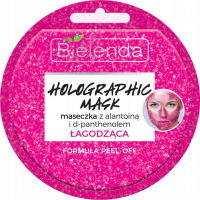 Bielenda - Holographic Mask - Soothing mask with allantoin and d-panthenol peel-off - 8 g