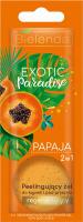Bielelda - Exotic Paradise - 2in1 Regenerating Bath and Shower Gel with Body Scrub - Peelingujacy żel do kąpieli i pod prysznic - Regenerujacy - Papaja - 25g