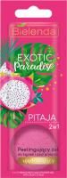 Bielenda - Exotic Paradise - 2in1 Firming Bath and Shower Gel with Body Scrub - Peeling bath and shower gel - Firming - Pitaya - 25g