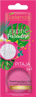 Bielelda - Exotic Paradise - 2in1 Firming Bath and Shower Gel with Body Scrub - Peelingujacy żel do kąpieli i pod prysznic - Ujędrniajacy - Pitaja - 25g