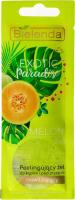 Bielenda - Exotic Paradise - 2in1 Moisturizing Bath and Shower Gel with Body Scrub - Peeling bath and shower gel - Moisturizing - Melon - 25g