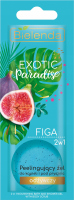 Bielelda - Exotic Paradise - 2in1 Nourishing Bath and Shower Gel with Body Scrub - Peelingujacy żel do kąpieli i pod prysznic - Odżywczy - Figa - 25g