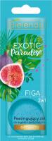 Bielelda - Exotic Paradise - 2in1 Nourishing Bath and Shower Gel with Body Scrub - Peelingujacy żel do kąpieli i pod prysznic - Odżywczy - Figa - 25g