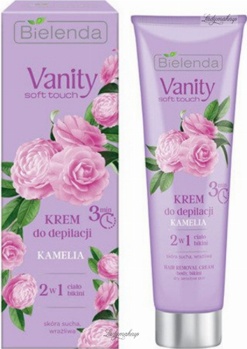 Bielenda - Vanity Soft Touch - Hair Removal Cream - Hair removal cream - Camellia - 100 ml