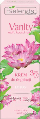 Bielenda - Vanity Soft Touch - Hair Removal Cream - Lotos - 100 ml