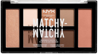 NYX Professional Makeup - MATCHY-MATCHY MONOCHROMATIC COLOR PALETTE - Face makeup palette - 01 Taupe