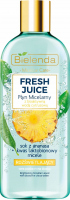 Bielenda - Fresh Juice - Brightening Micellar Liquid with Bioactive Citrus Water - Highlighting micellar fluid with bioactive citrus water - 500 ml